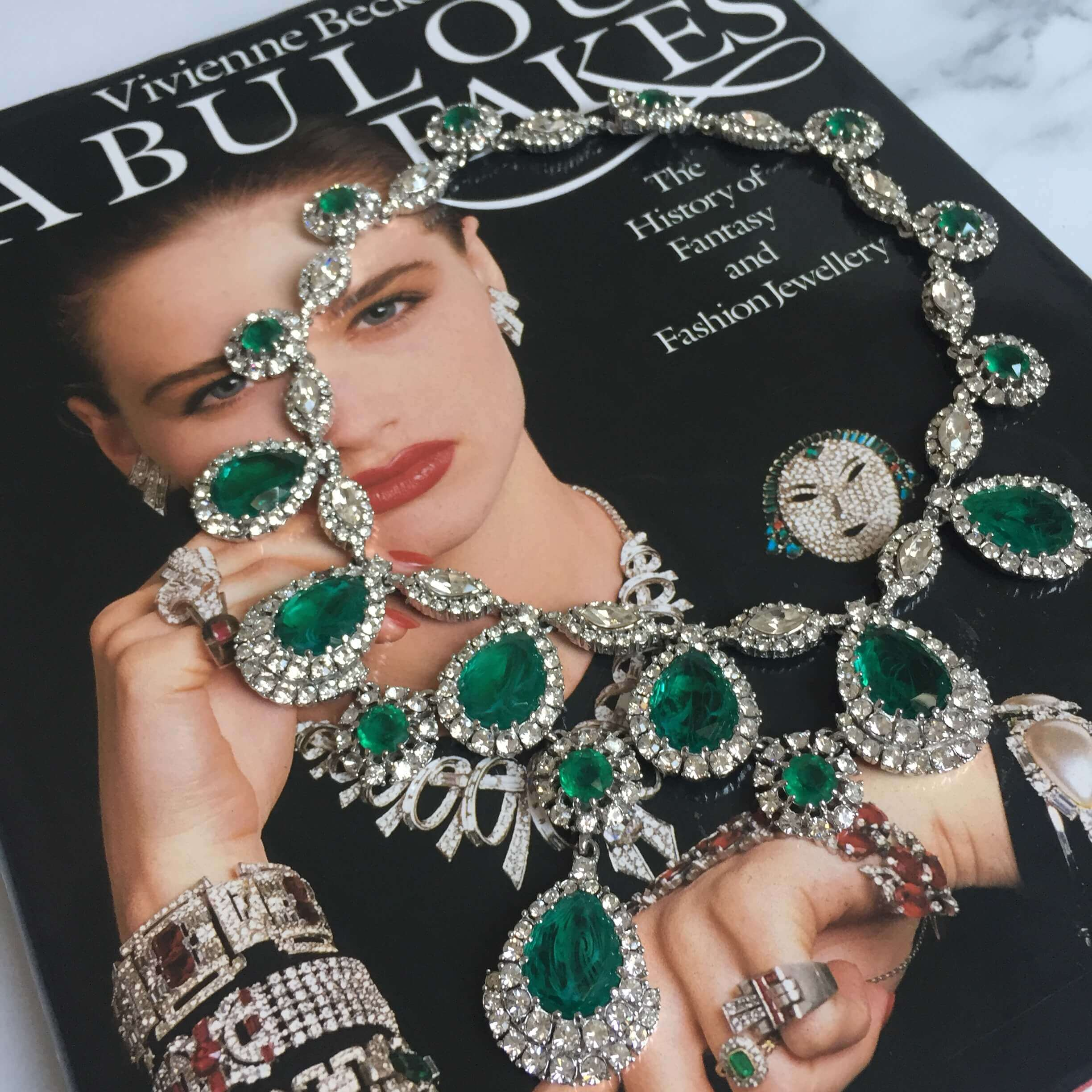 Unique Vintage Crystal - Jennifer Gibson Jewellery Look Book