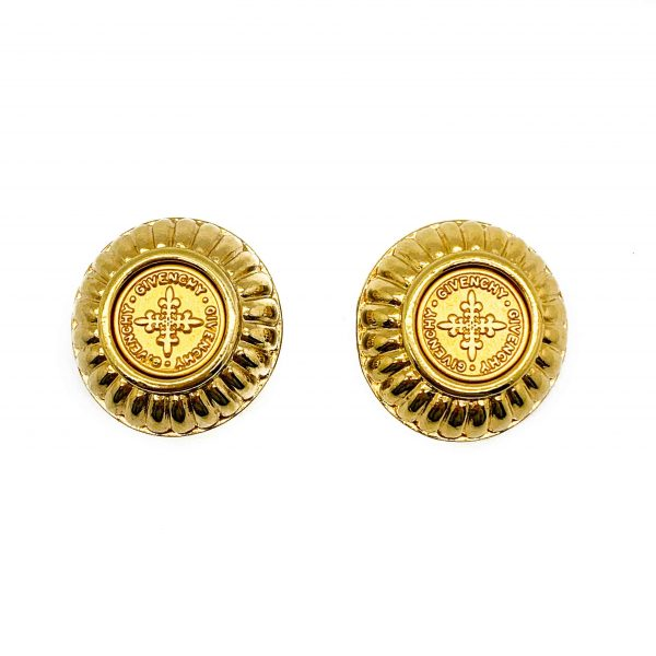 Vintage Givenchy Coin Earrings