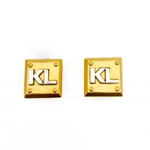 Vintage Karl Lagerfeld Earrings