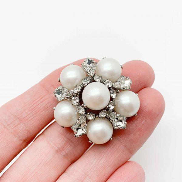 Vintage Dior Pearl Brooch