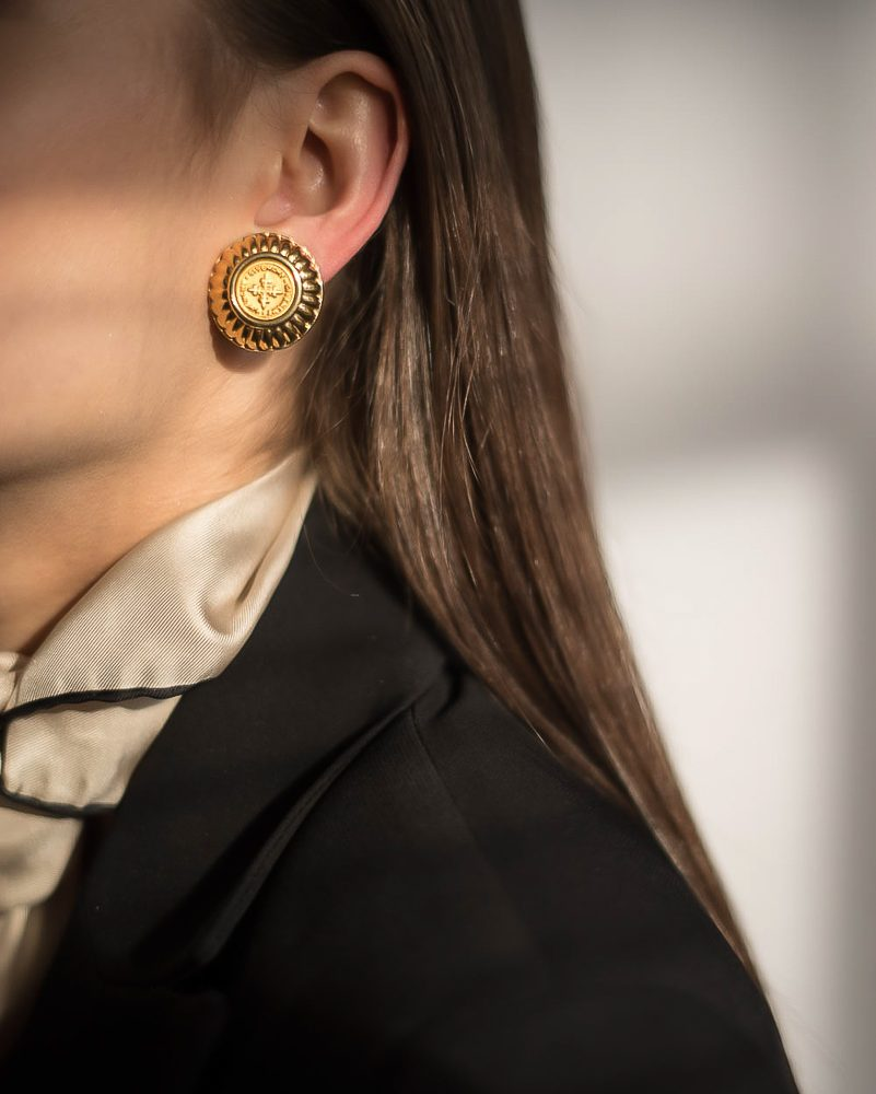 Vintage Givenchy Earring Jennifer Gibson Jewellery