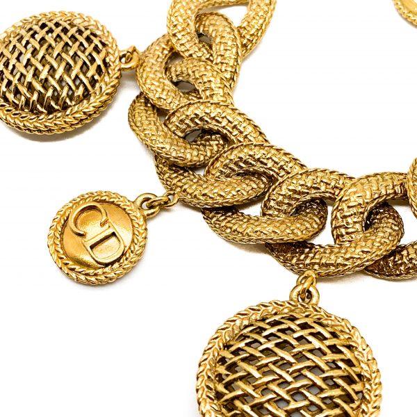Vintage Dior Logo Bracelet