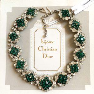 Vintage Dior Tourmaline Necklace