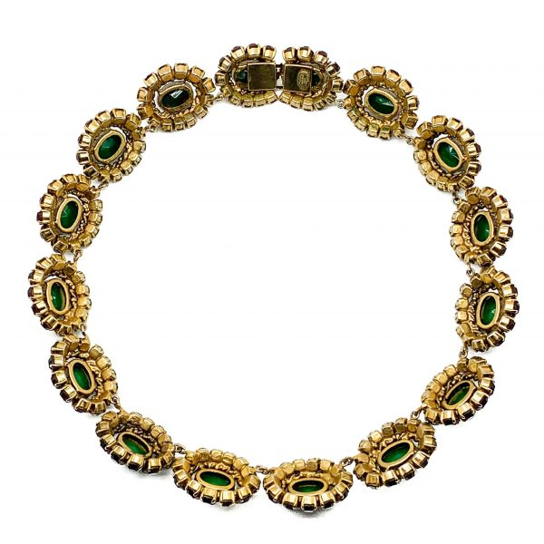 Vintage Dior Parure Necklace Earrings Brooch Suite 1964