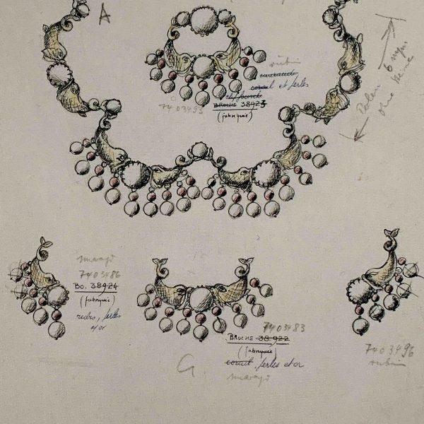 Vintage Dior Maer Mythical Creature
