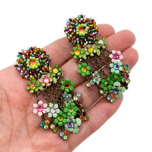 Vintage Floral Earrings