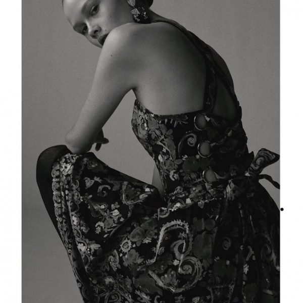 SYSTEM MAGAZINE LACROIX ARCHIVE EDITORIAL Issue 13 SS 2019 Featuring Jennifer Gibson Jewellery Vintage Lacroix Earrings