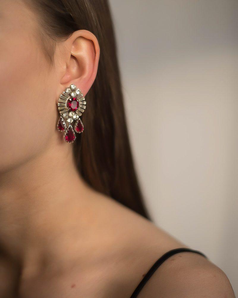 Vintage Mitchel Maer Earrings Jennifer Gibson Jewellery