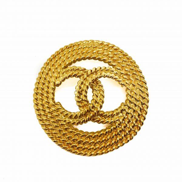 Vintage Chanel CC Brooch