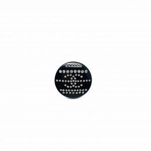 Vintage Chanel CC Button Pin