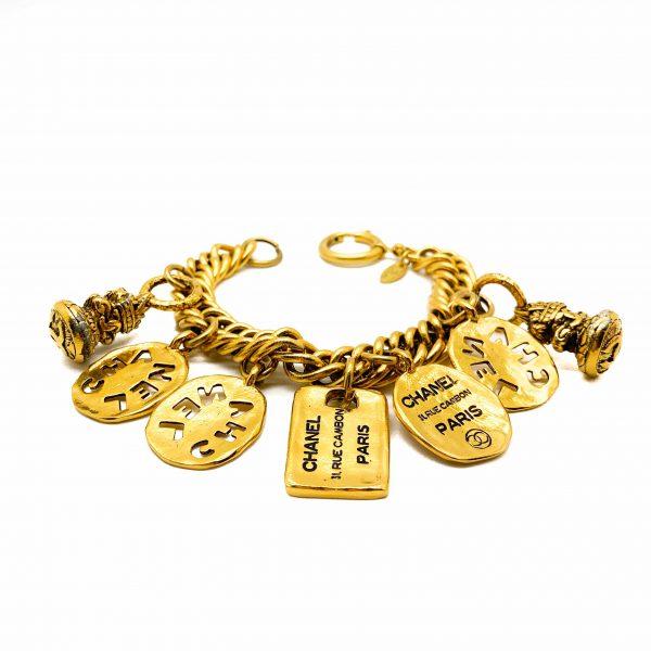 Vintage Chanel Charm Bracelet