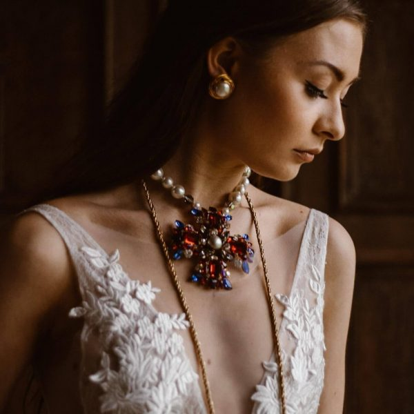 Agnes Black and Emma Beaumont Atelier with Jennifer Gibson Jewellery for Rock My Wedding Editorial 2019