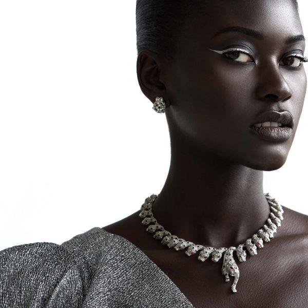 Bintou Editorial   Jennifer Gibson Jewellery Vintage Big Cat Jewellery