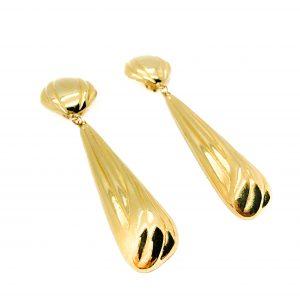 Vintage Gold Drop Earrings