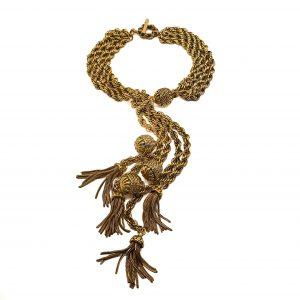 Vintage Satellite Sautoir Necklace