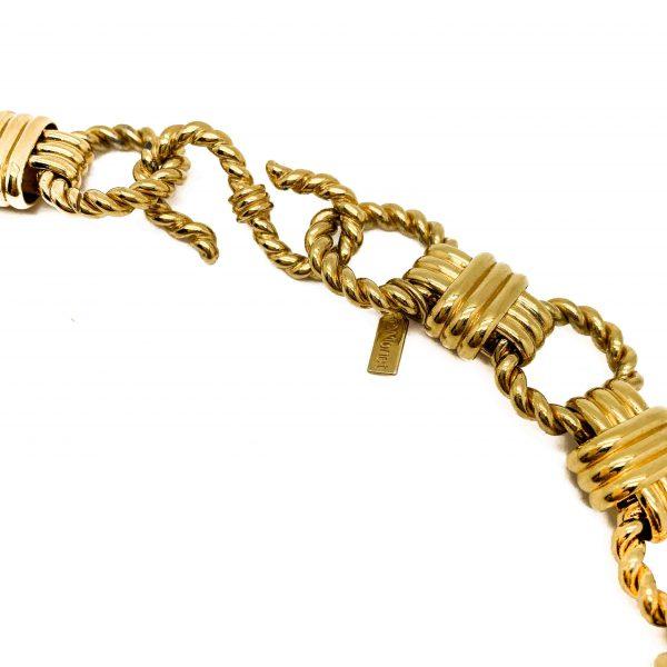 Vintage Monet Rope Necklace