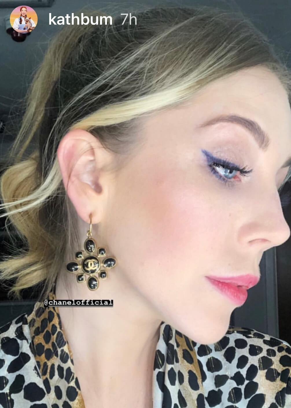 Katherine Ryan Wearing Vintage Chanel For Your Face or Mine   Jennifer Gibson Jewellery 2019