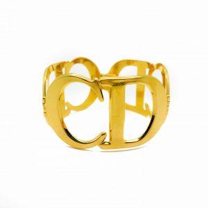 Vintage Dior CD Logo Bracelet