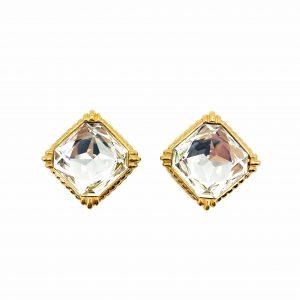 Vintage Dior Crystal Clips