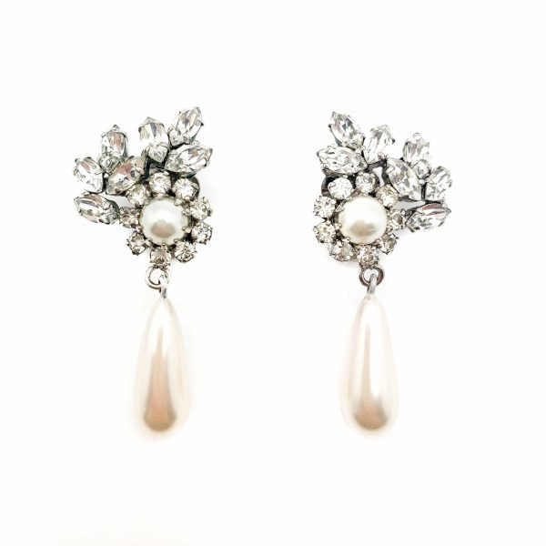 Vintage Dior 1961 Couture Earrings