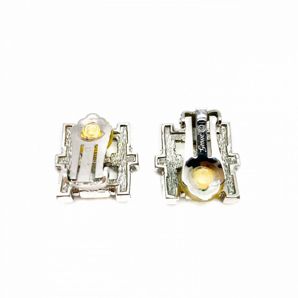 Vintage Grosse Crystal Earrings