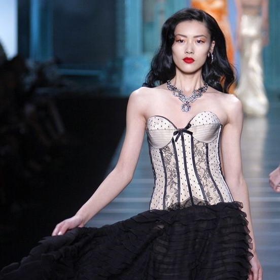 Dior Haute Couture Liu Wen SS 2010 Galliano Necklace