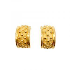 Vintage Dior Curve Bobble Earrings