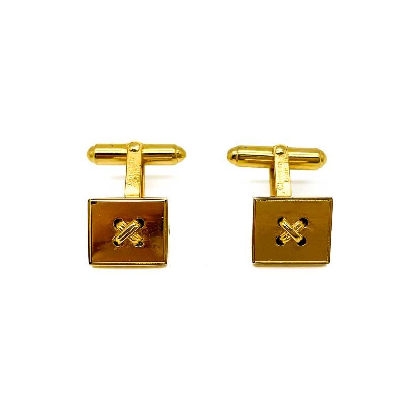Vintage Dior Gold Cufflinks