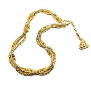 Vintage Dior Gold Belt