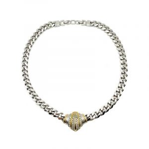 Vintage Dior Embellished Collar