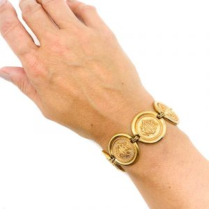 Vintage Dior Interlocked Monogram Bracelet