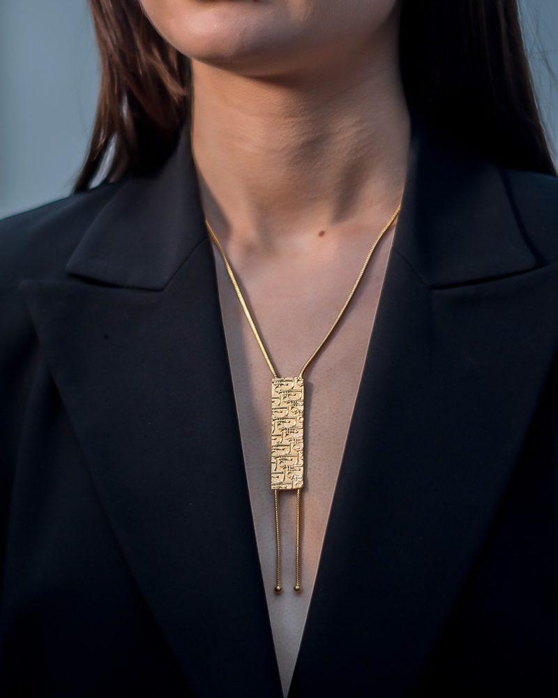 Vintage Dior Trotter Sautoir Necklace