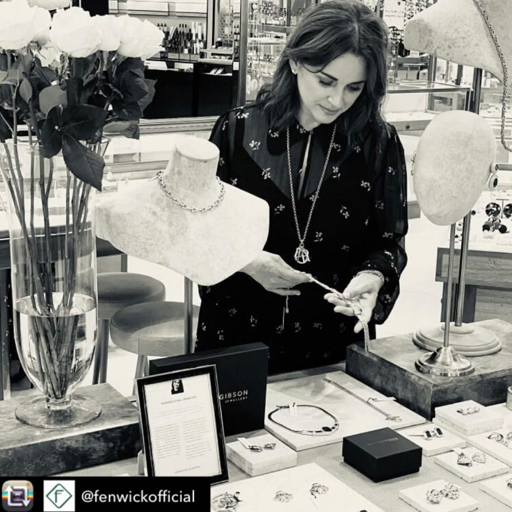 Fenwick of Bond Street Stockists of Jennifer Gibson Vintage Jewellery