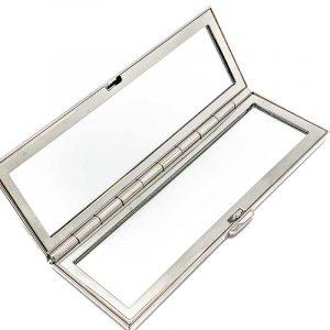 Judith Leiber Crystal Purse Mirror