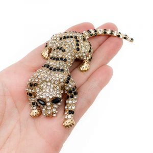 Statement Tiger Brooch