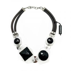 Emporio Armani Lucite Necklace