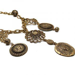 Vintage Oscar de la Renta Bib Necklace