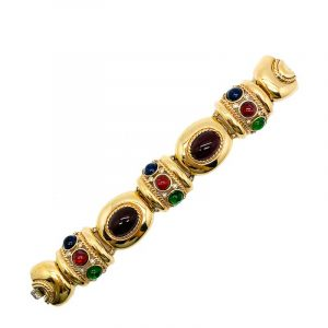 Vintage Givenchy Jewelled Bracelet