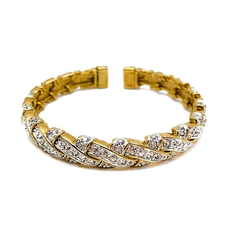 Vintage Gold Arc Bracelet