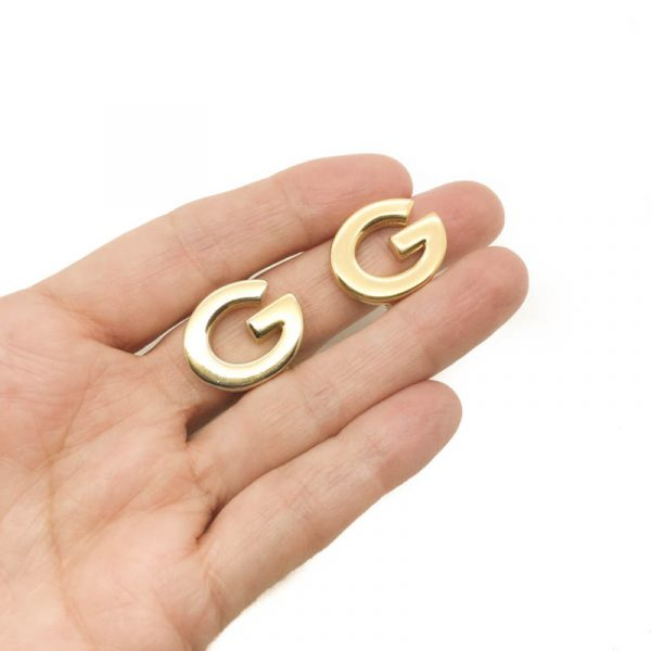 Vintage Givenchy Logo Earrings