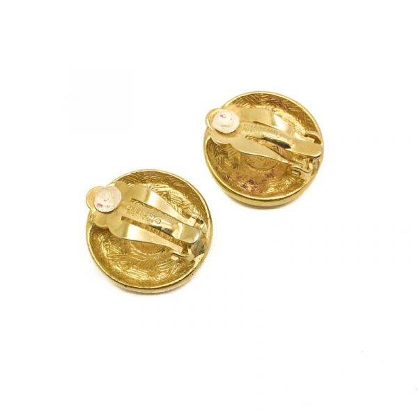 VIntage Givenchy Logo Earrings