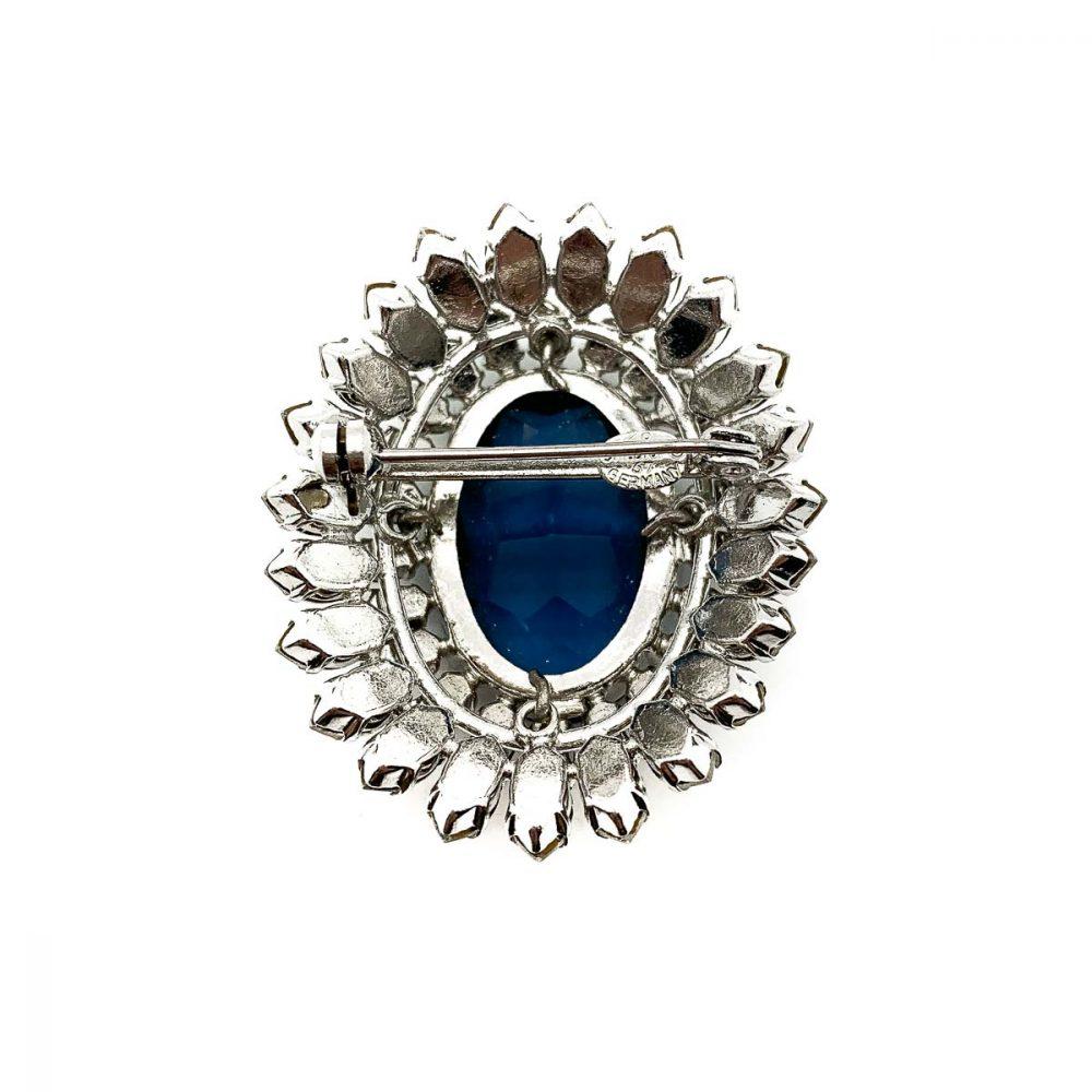 Vintage Christian Dior 1967 Crystal Brooch