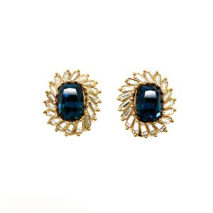Vintage Christian Dior Crystal Earrings