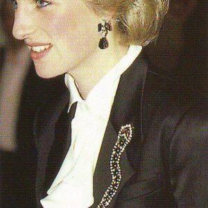 Vintage Butler & Wilson Snake Brooch Jennifer Gibson Jewellery