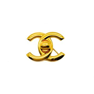 Vintage Chanel Turnlock Brooch
