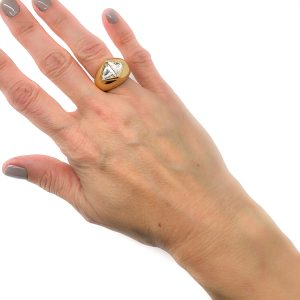 Vintage Christian Dior Trapeze Ring