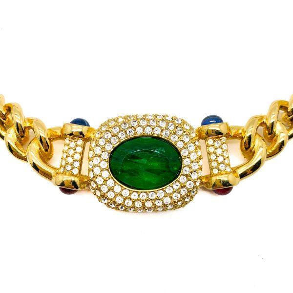 Vintage Grosse Mughal Necklace