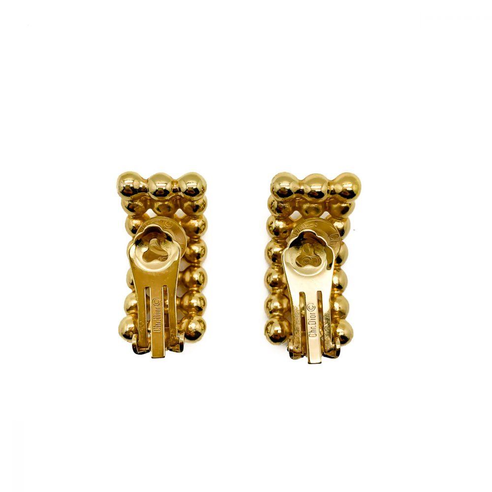 Vintage Dior Bobble Earrings Jennifer Gibson Jewellery