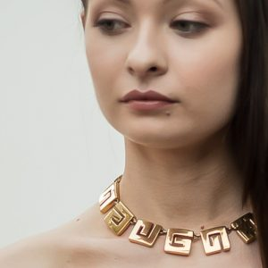 Vintage Givenchy G Logo Necklace