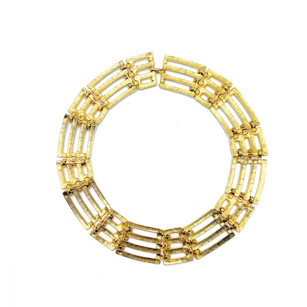 Vintage Givenchy Two Tone Necklace
